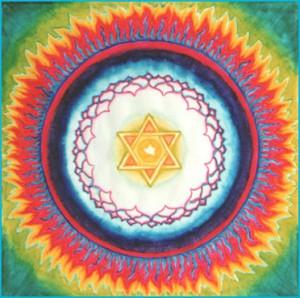 (w)Mandala stella fuoco